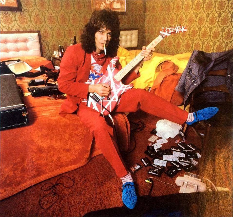 Two Faces Of Van Halen Van Halen News Desk Musik Klassiker H I S
