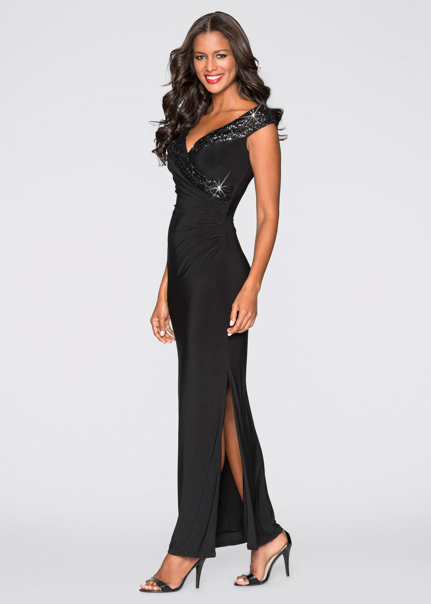 pin auf evening dress