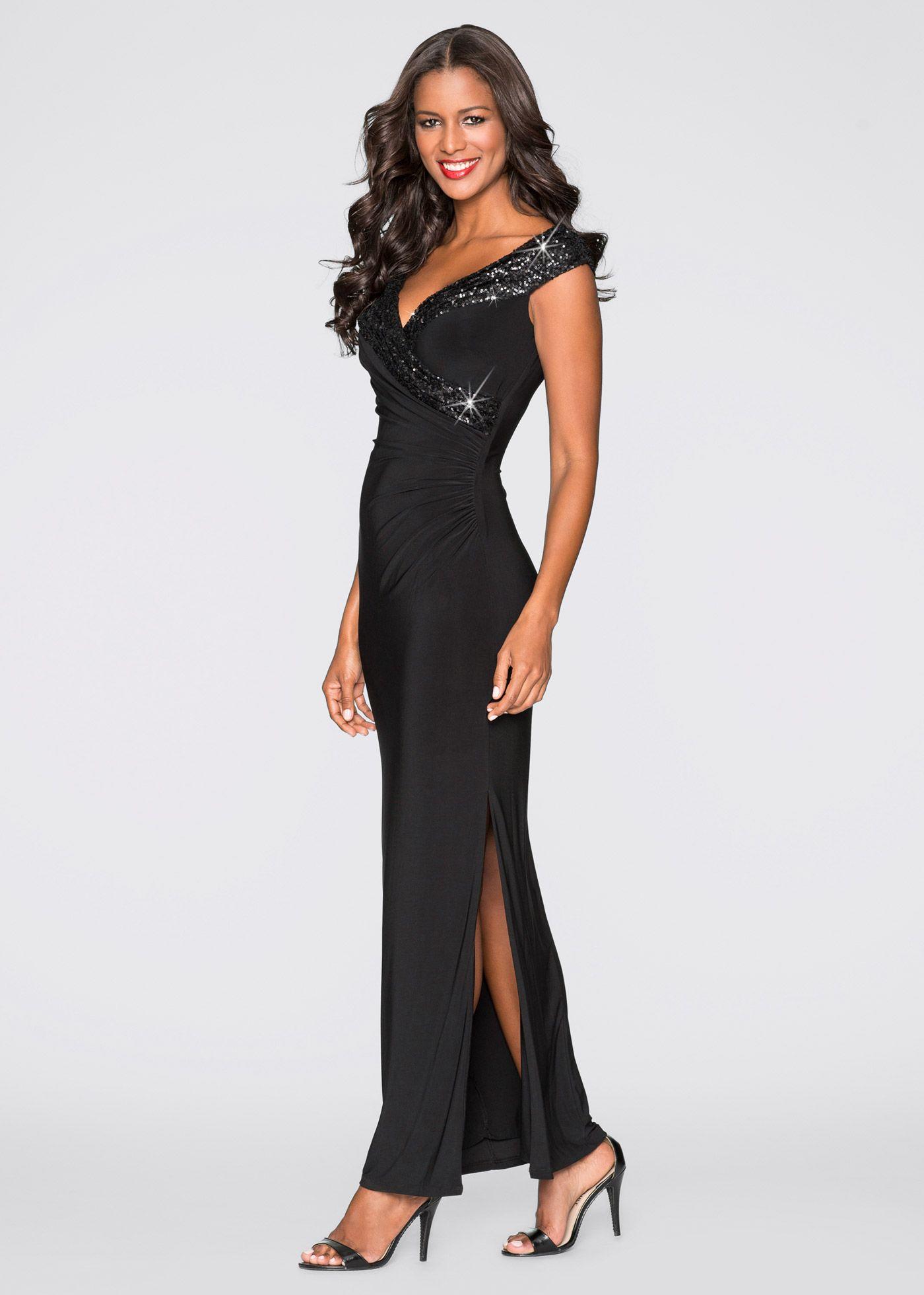 329ff9ca0fa Abendkleid schwarz - BODYFLIRT boutique jetzt im Online Shop von bonprix.de  ab   59