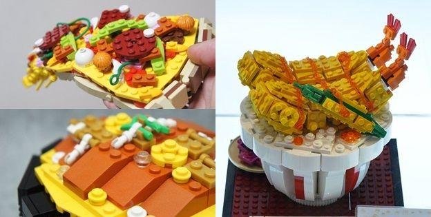 奇趣 - 比現實美食還要可口?玩家運用樂高打造各種驚人餐點作品 Life2c.com - Life Style