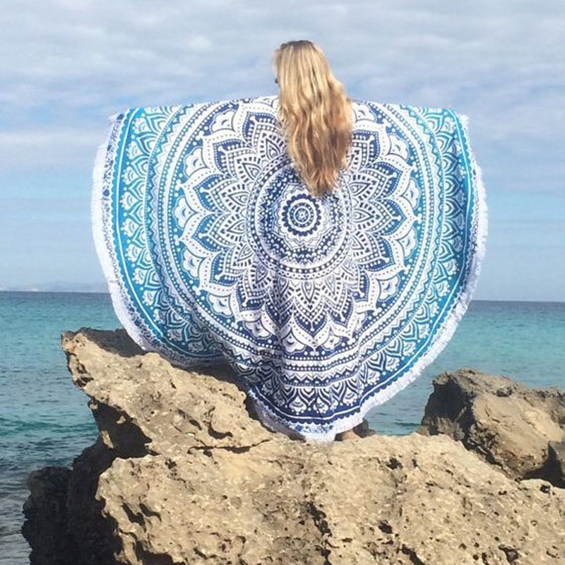 Find More Bath Towels Information About Round Beach Towel