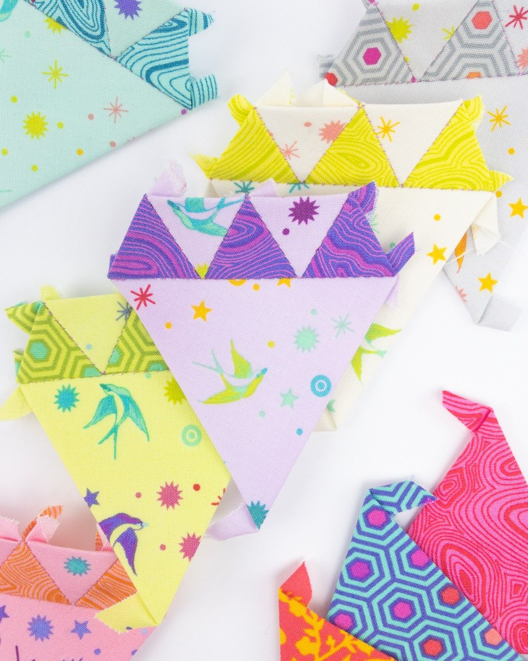 Tula Pink Quilty Box : quilty, Inspired, Pink,, We're, Bringing, Brand, Never, Before, Pattern, Using, Colors, Charm, Squa…, Spirit, Fabrics,