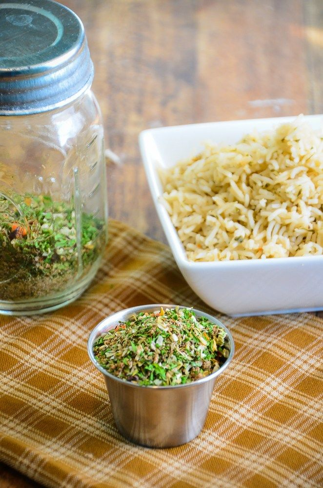next time you cook rice add some flavor homemade rice seasoning mix turns boring rice into a quick and easy side dish