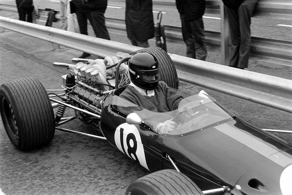 Dan Gurney 68 Dutch Gp The First F1 Driver To Use A