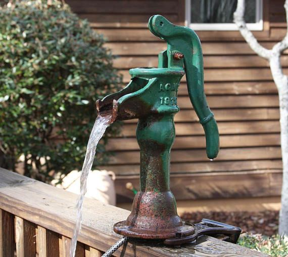 Hand Pump 1900 S Cast Iron Water