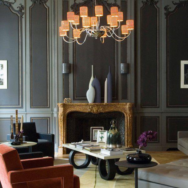 26 intérieurs en couleur Salons