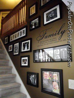 Photo Frames Stairway