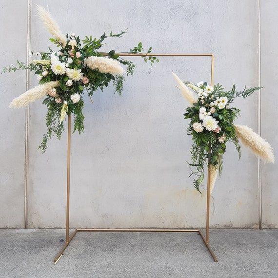 Wedding Arch, Copper Arch, Wedding Backdrop, Rose Gold Wedding, Wedding Ceremony Arch, Copper Archway, Wedding Floral Archway, Photo Booth