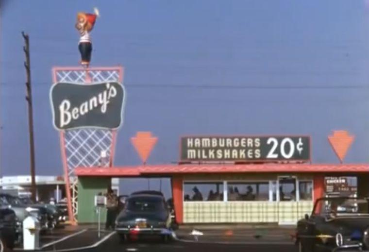 Beany S Drive In Restaurant Long Beach California