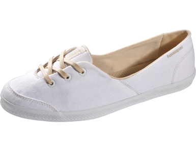 Havaianas flip-flop sole ballerina sneakers