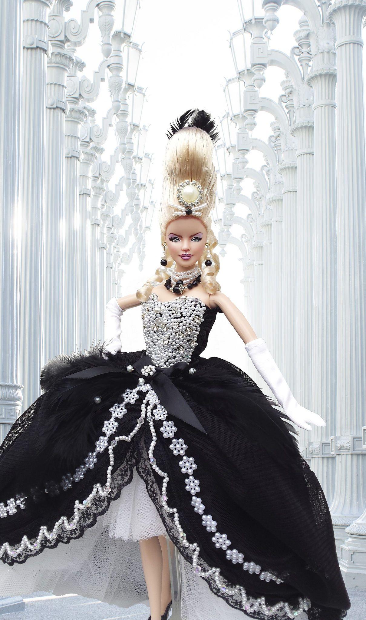 httpsflickrpnmxgej barbie marie antoinette gothic - Barbie Marie