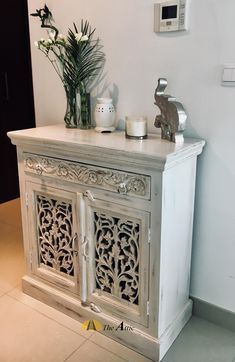 Our Small Hand Carved Cabinets Are Perfect For Those Narrow Sections Of Wall That So Hard To Decorate Get Style And Storage In One Shot