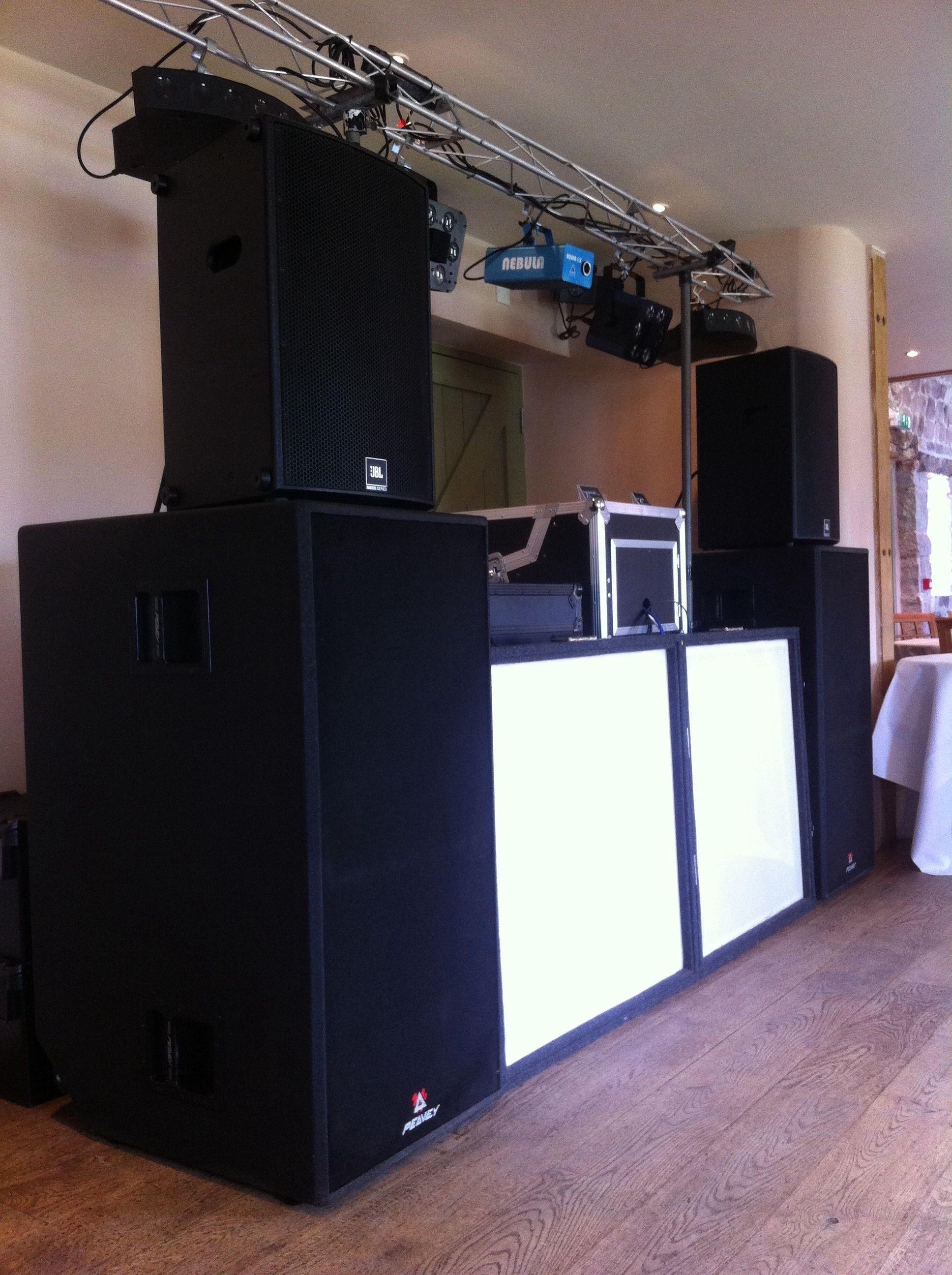 Sound Solutions Dj Wedding Setup Dj Setup Dj Dj Equipment