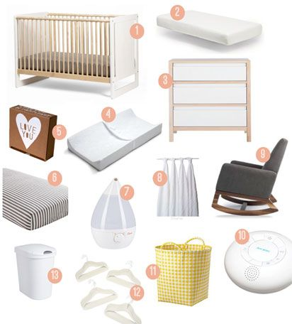 Nursery Registry Must Haves