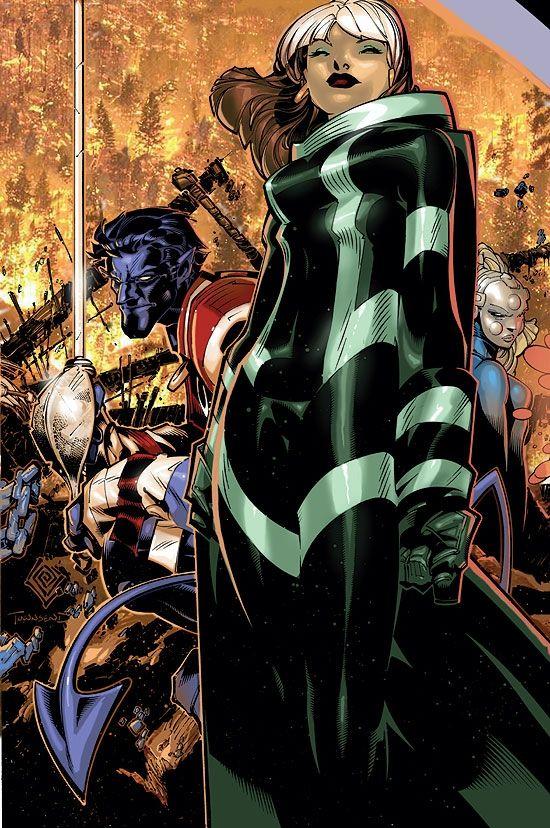 Rogue, Nightcrawler & Xorn - X-Men: Age Of Apocalypse #4