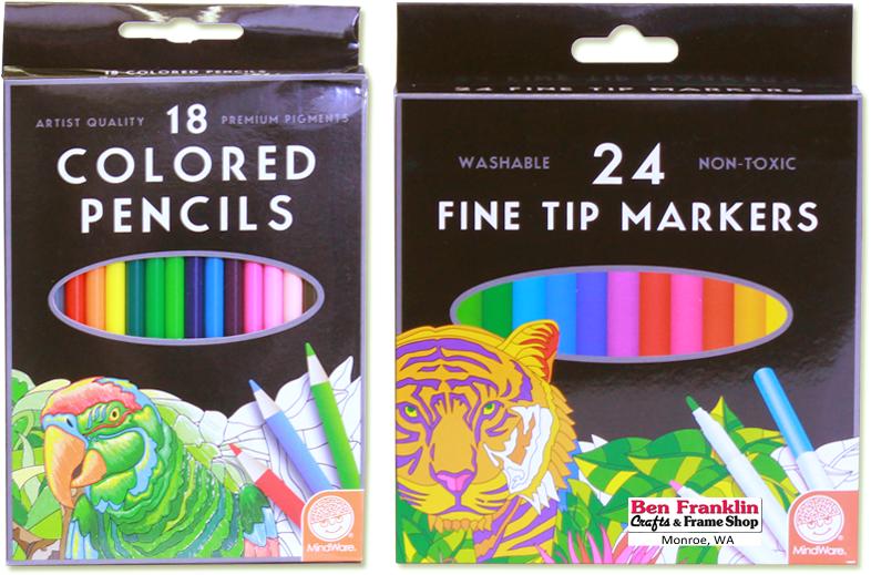Set of 24 Mindware Mindware Fine Tip Markers