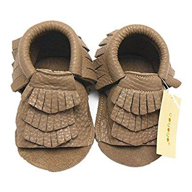 Sayoyo Baby Soft Sole Leather Infant Toddler Prewalker Shoes Sandal Toddler Summer Shoes