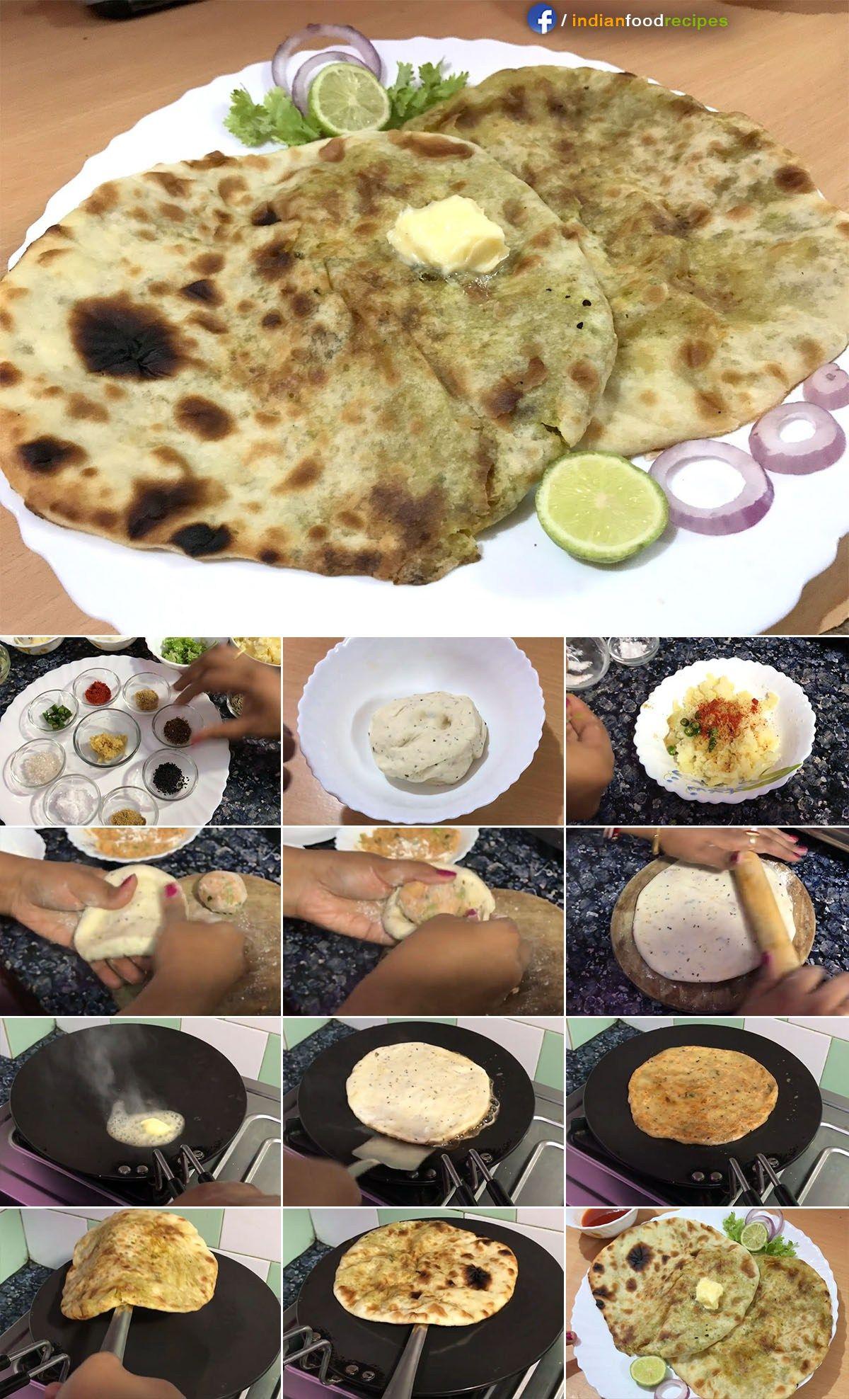 Amritsari aloo masala kulcha recipe step by step pictures food amritsari aloo masala kulcha recipe step by step pictures forumfinder Images