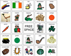 St. Patrick's Day plural bingo on Boardmaker Share -   -  Pinned by @PediaStaff – Please Visit ht.ly/63sNt for all our pediatric therapy pins