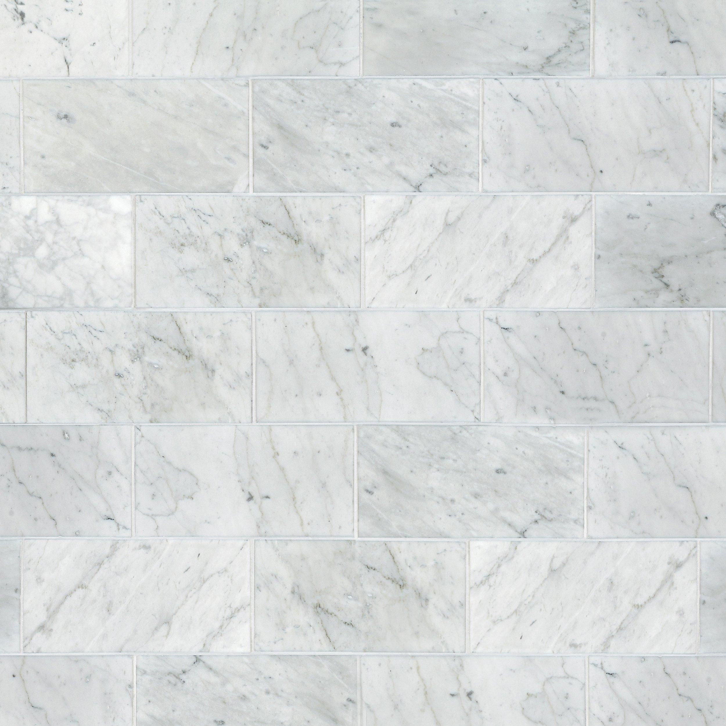 Bianco Carrara Honed Marble Tile Marble Tiles Carrara