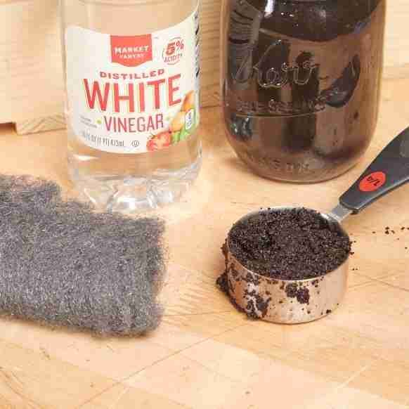 Stain Unfinished Wood with Used Coffee Grounds - Family Handyman