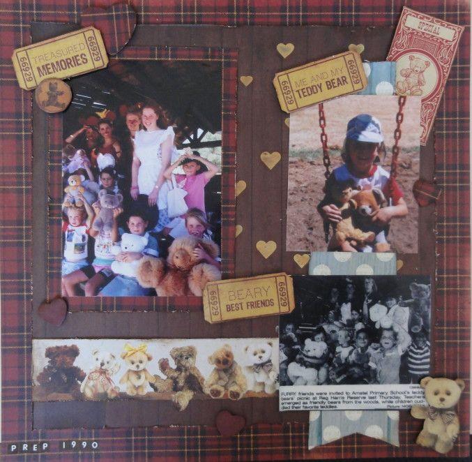 Kaisercraft Teddy Bears picnic