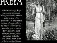 norse | Freya & Odin on Pinterest | Fertility, Goddesses and War
