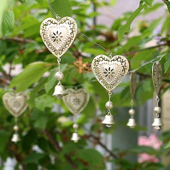 Website Wishlist - Not On The High Street - Christmas Decorations..........   Wind chimes, Heart ...