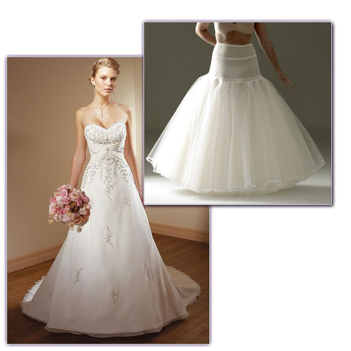 Mori Lee Wedding Dress 2105 with Jupon Hoop 165 at Glamourous Gowns ...