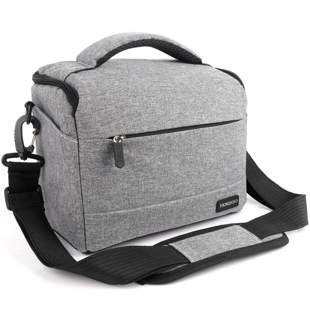 DSLR Camera Bag Fashion Polyester Shoulder Bag Camera Case for Canon Nikon Sony FujiFilm Olympus Panasonic DSLR Cameras