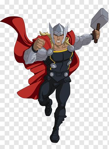 Thor Illustration Thor Cartoon Marvel Cinematic Universe Marvel Animation Comics Thor Free Png Thor Comic Art Avengers Assemble Cartoon Thor Drawing