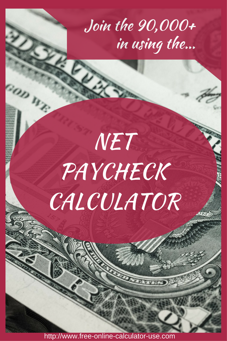 This free online paycheck calculator will estimate your net take ...