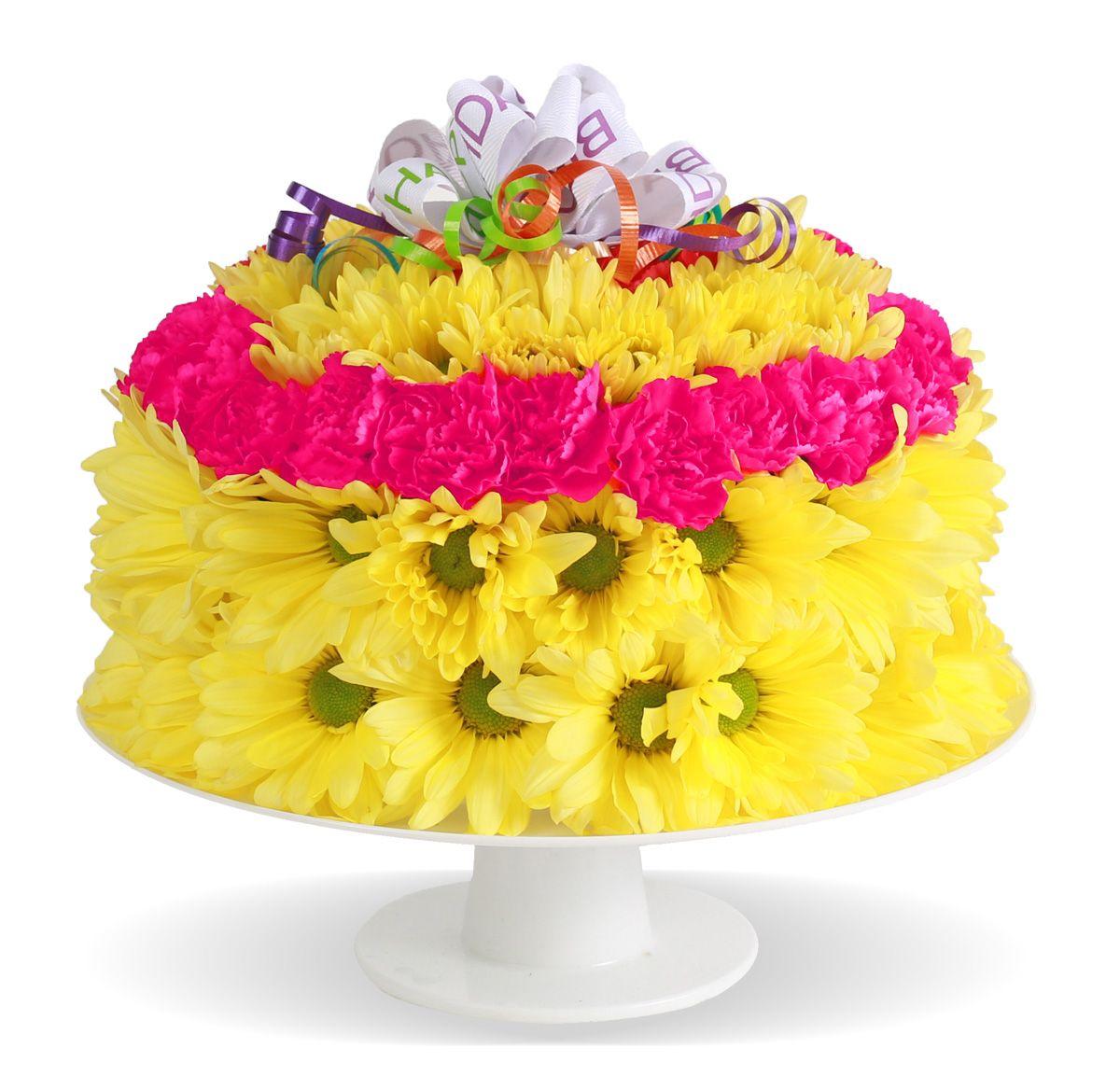 Bestsellers fresh flower birthday cake columbus oh
