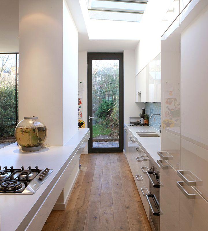 Best Threefold Architects Side Return Extension Long Narrow 400 x 300