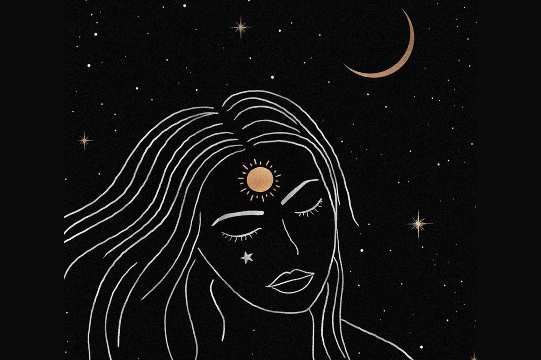Weekly Horoscopes September 28 October 4 Moon Art Moon Stars Art Celestial Art