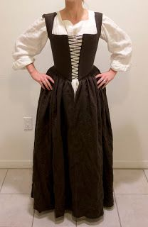 WastedWeeds~: Brown Kirtle | Baroque or Rococo Peasant