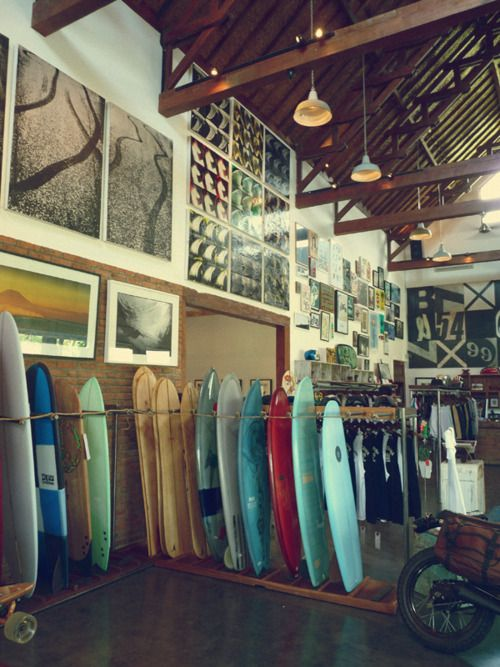 Pin By Jacob Peulicke Olesen On Culture Me Surf Shop Interior Surf Room Coffee House Design