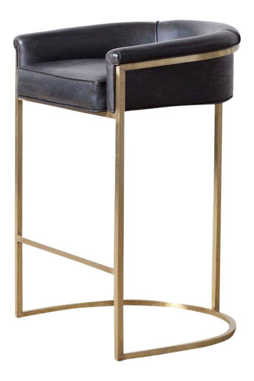 Hollywood Regency Claudio Brass Barstool Bar Stools Hollywood Regency Dining Room Chairs Ikea
