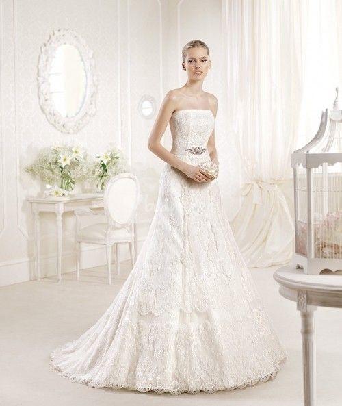 tendencias en vestidos de novia 2014 | pinterest | la sposa, bodas