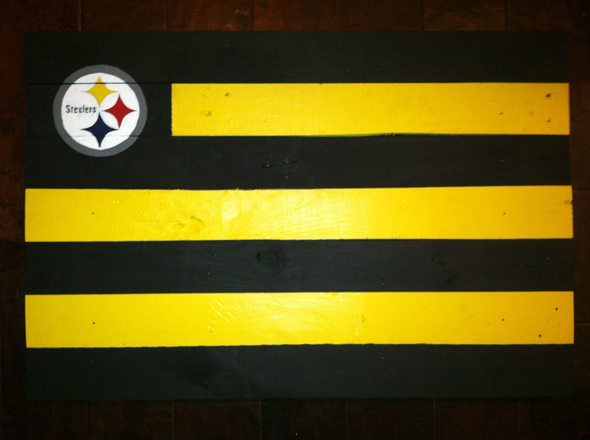 Steelers | My Pallet Flags | Pinterest | Pittsburgh steelers ...