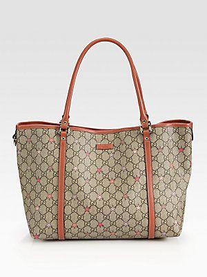 454a474f7bd2c9 Gucci Joy GG Supreme Stars Canvas Tote | Shoes & Bags | Bags, Gucci ...