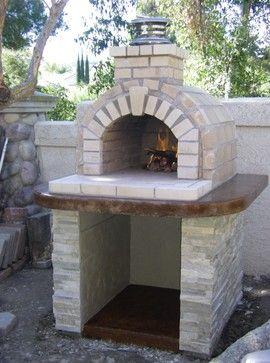Schlentz Pizza Oven Modern Landscape San Diego Brickwood