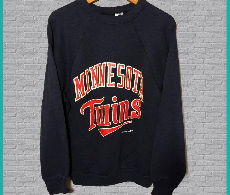 online retailer 4fdc5 672a1 Vintage Minnesota Twins Crewneck Sweatshirt | CREWS&TEES! <3 ...