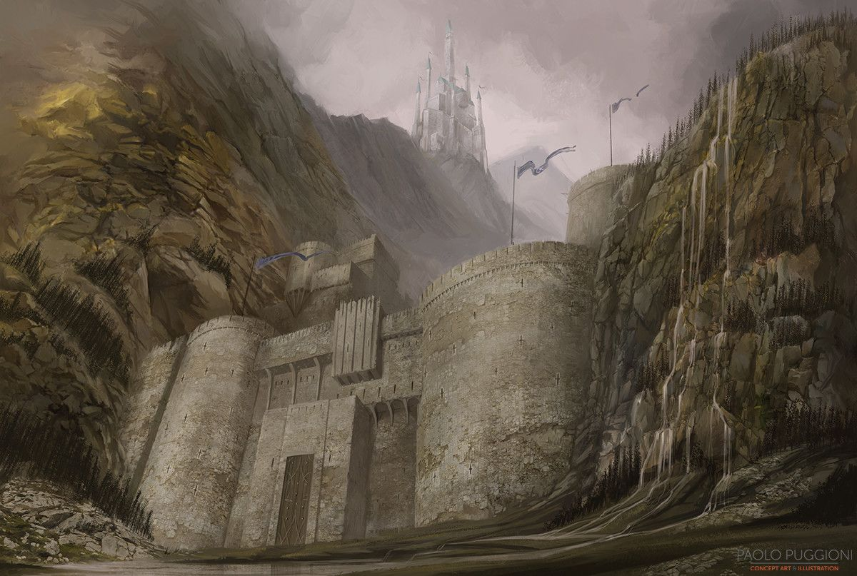 Gates of the Moon, Paolo Puggioni on ArtStation at https://www.artstation.com/artwork/qZD5N