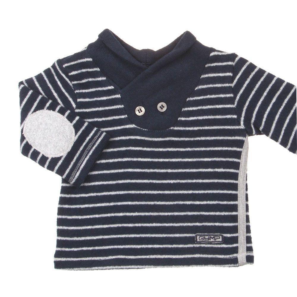 Gymp Kinderkleding.Gymp Online Winter Zachte Baby Jongens Sweater Axton Marine