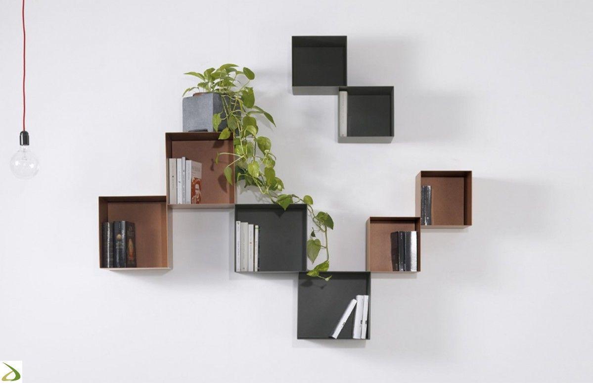 Cubi Da Parete Con Ante.Libreria Twin Nel 2019 Soggiorni Home Decor Ideal Home E