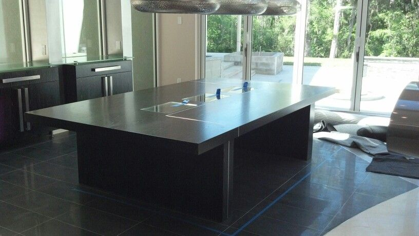A dining room table I built.
