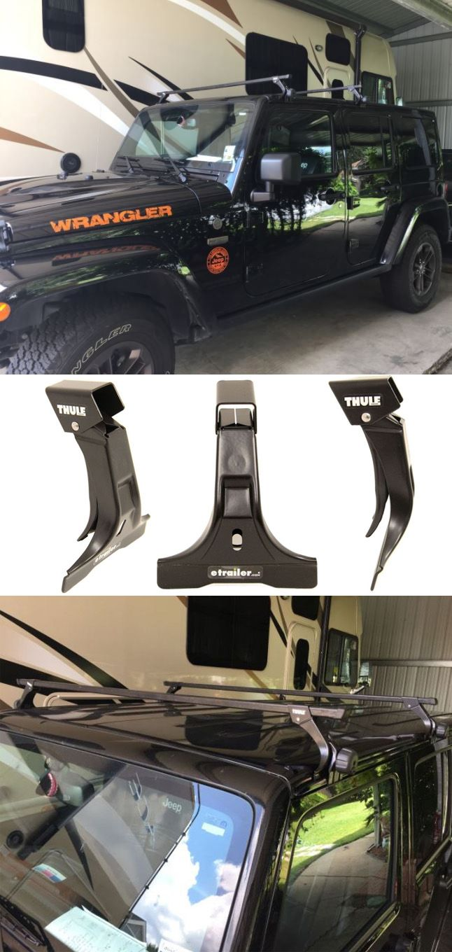 Get Added Cargo Space On Your Jeep Wrangler Unlimited Hardtop With A Roof Rack Roof Rack Thule Roof Rack Jeep Wrangler Unlimited