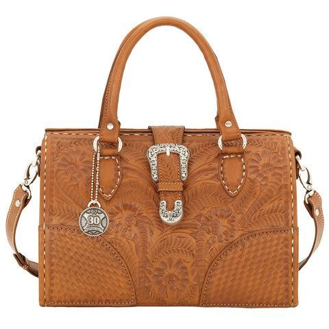 American West Golden Tan Commemorative Collection Medium Hard-Sided Doctor's Bag