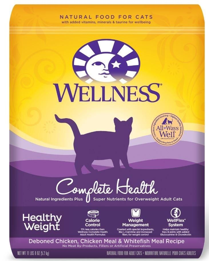 Healthy Weight Is A Well Rounded Solution Focused Diet Of Meats Grains And Fruits For Cats With A More Sedentary Li Dry Cat Food Health Healthy Best Cat Food